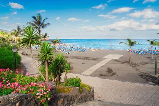 Playa Jardin Teneriffa 4